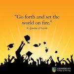 go forth inspirational graduation quote