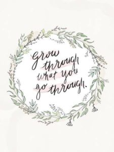 grow inspirational graduation quote