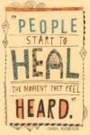 heard mental health quote