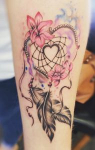heart-dreamcatcher-tattoos