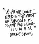 human inspirational depression quote