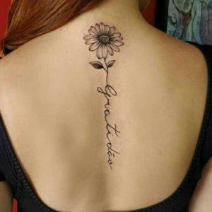 long-daisy-flower-tattoo