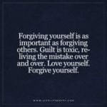 love yourself forgive yourself quote