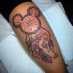 mickey-dreamcatcher-tattoos