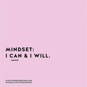 mindset motivational quote