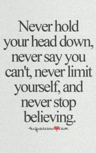 never inspirational graduation quote