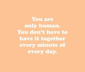only human mental health quote