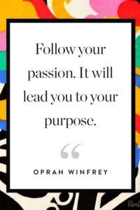 oprah purpose inspirational graduation quote