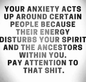 pay attention inspirational anxiety quote