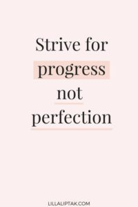 progress motivational quote