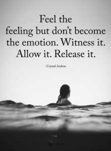 release inspirational depression quote