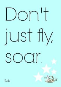 soar inspirational graduation quote