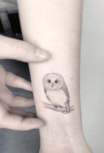 soft-owl-tattoo