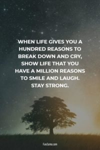 stay strong motivational quote
