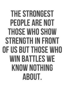 strongest people mental health quote