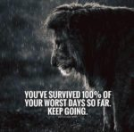 survive inspirational depression quote