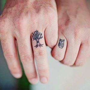 tree-bff-owl-tattoo
