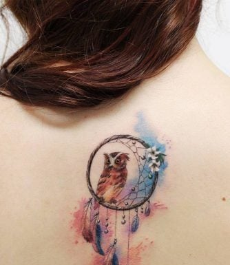 Dreamcatcher Tattoo Designs