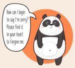 panda forgive me quote