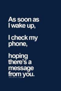 texting to boyfriend